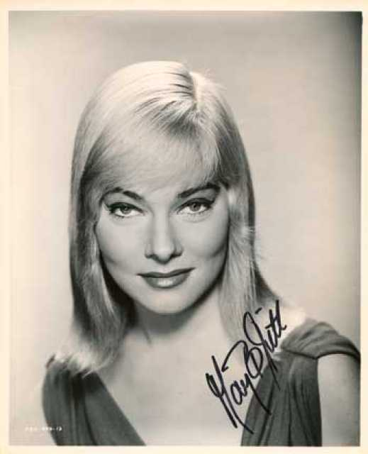 Portrait May Britt, Archiv KinoTV