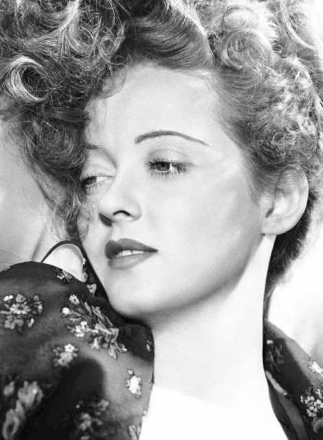Portrait Bette Davis