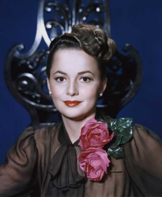 Portrait Olivia de Havilland