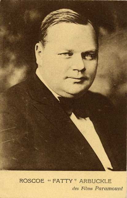 Portrait Roscoe 'Fatty' Arbuckle