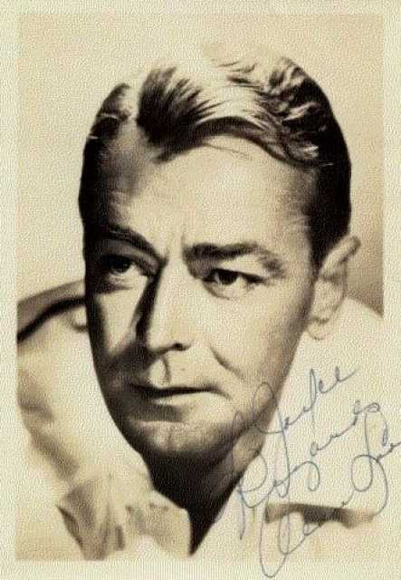 Portrait Alan Ladd