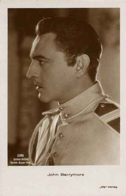 Portrait John Barrymore