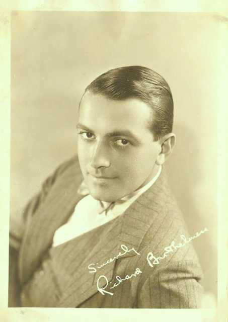 Portrait Richard Barthelmess, Archiv KinoTV