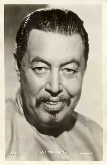Portrait Warner Oland