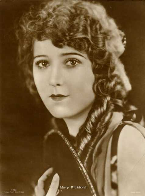 Portrait Mary Pickford