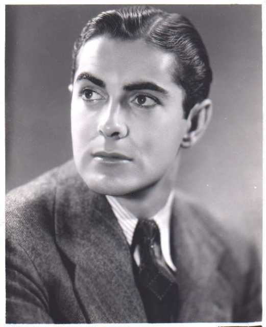 Portrait Tyrone Power