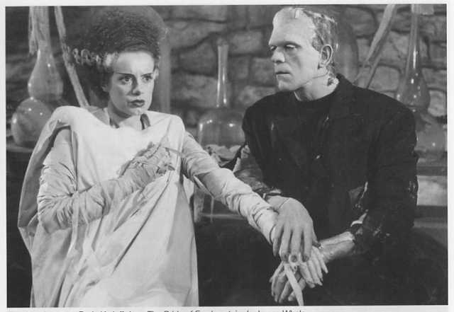 The bride of frankenstein frankensteins braut