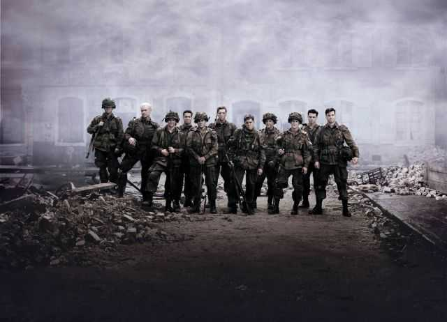 Szenenphoto aus Band of Brothers, © Band of Brothers Ltd., Dreamworks Pictures,