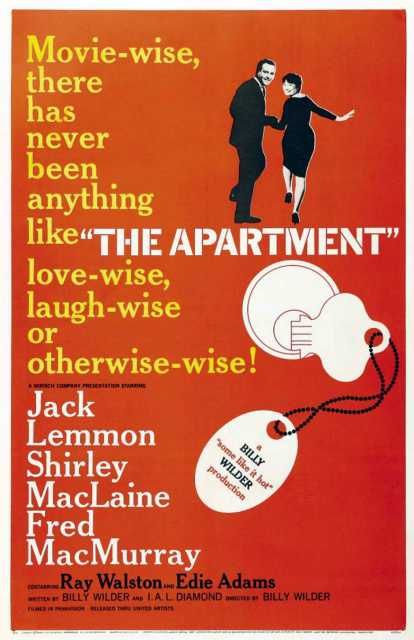 Plakatmotiv zum Film 'The Apartment' © Produktion,  Archiv kinotv.com