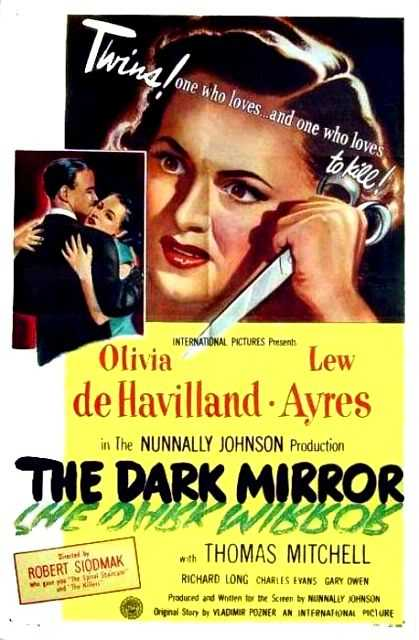Poster von The dark mirror, © Universal,