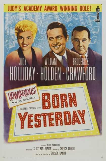 Poster_Born yesterday