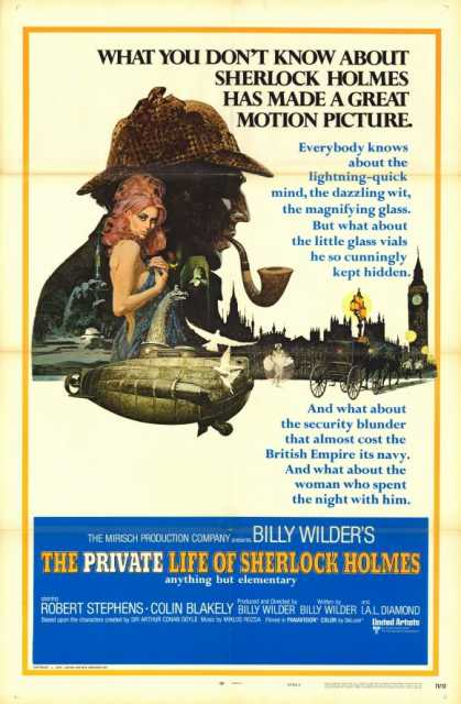 Poster_private Life of Sherlock Holmes