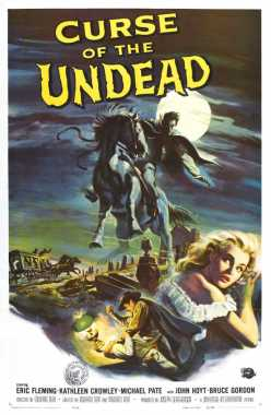 Poster von The curse of the undead, © Production