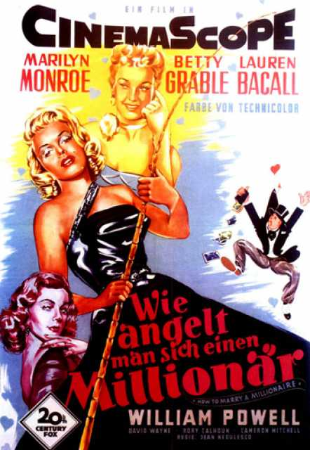 Poster_How to marry a Millionaire