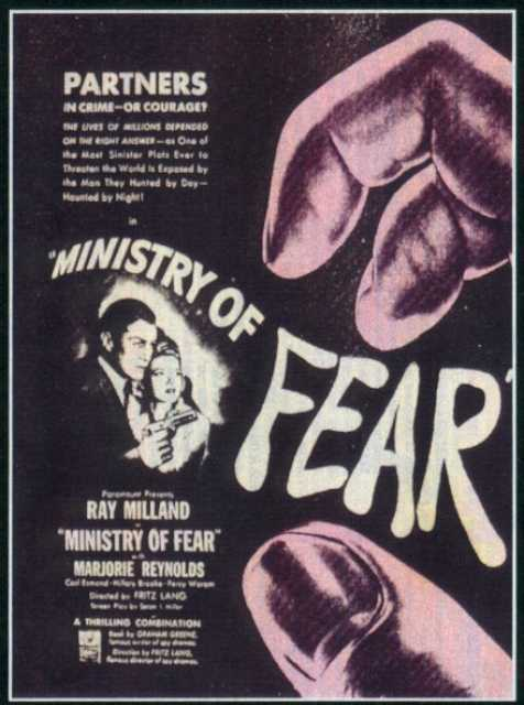 Poster_Ministry of Fear