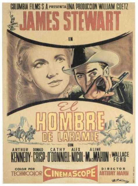 Poster von The man from Laramie, © Produktion,  Archiv KinoTV
