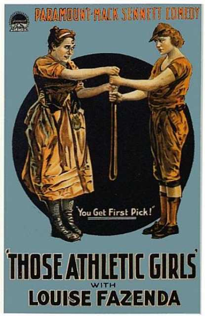Poster_Those Athletic Girls