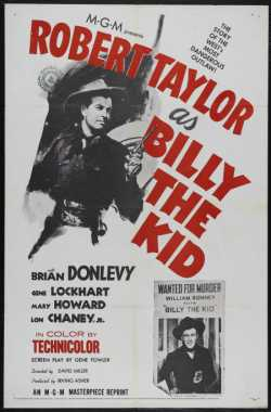 Poster_Billy the Kid
