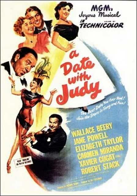 Poster von A date with Judy, © Metro-Goldwyn-Mayer,  Archiv KinoTV