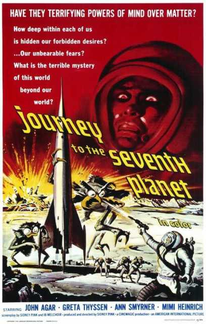 Poster von Journey to the Seventh Planet, © Production