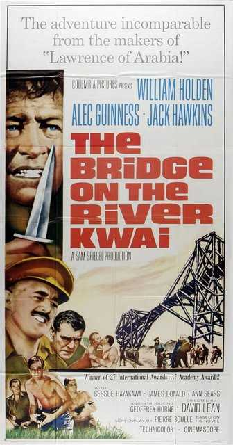 Poster_Bridge on the river Kwai