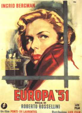 Poster von Europa 51, © Production