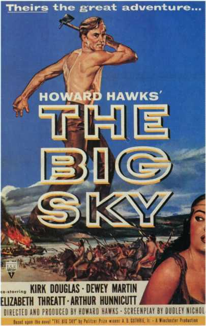Poster von The Big Sky, © Winchester Pictures Corporation, RKO Radio Pictures,