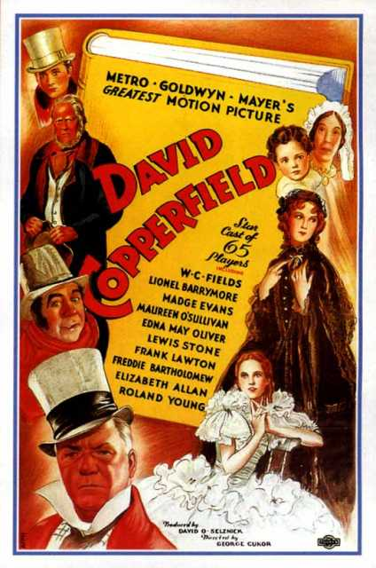 Poster_Personal History, Adventures, Experience, and Observation of David Copperfield the Younger
