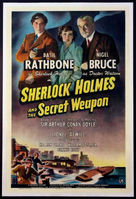Poster_Sherlock Holmes and the Secret Weapon