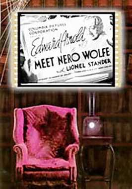Poster von Meet Nero Wolfe, © Columbia Pictures Corporation,