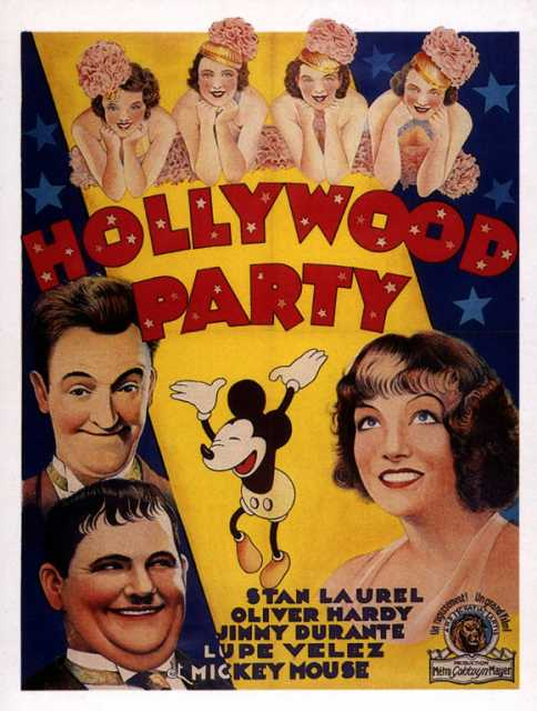 Poster_Hollywood Party