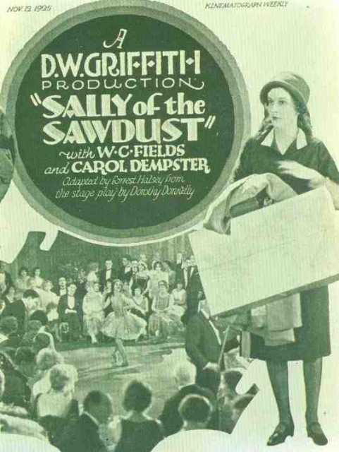 Poster_Sally of the Sawdust