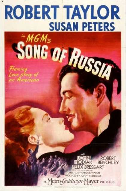 Poster von Song of Russia, © Metro-Goldwyn-Mayer,