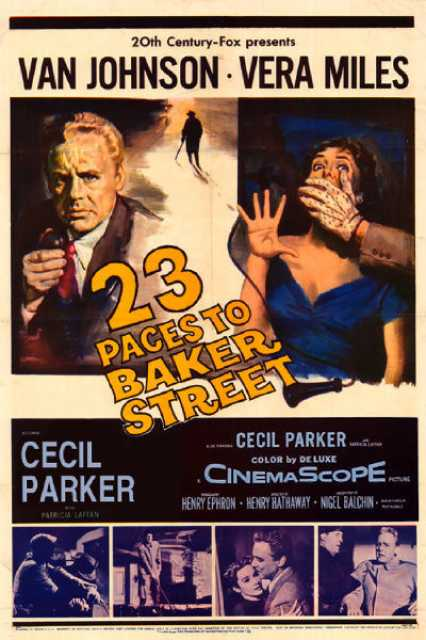 Poster_Twentythree Paces to Baker Street