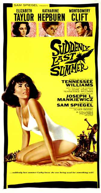 Poster von Suddenly, last summer, © Columbia Pictures Corporation,