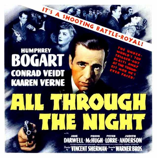 Poster von All through the Night, © Warner Bros. Pictures, Inc.,  Archiv KinoTV