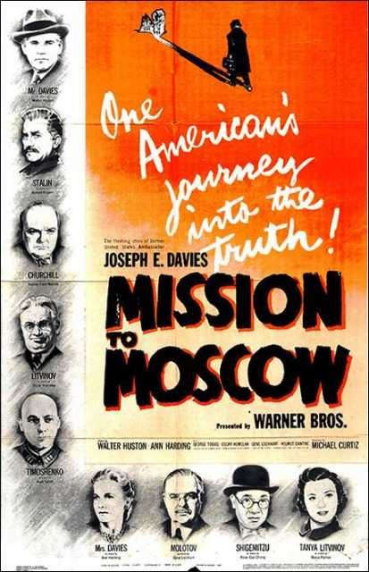 Poster_Mission to Moscow