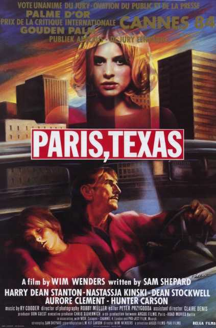 Poster_Paris, Texas