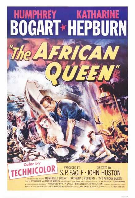 Poster von The African Queen, © Horizon-Romulus, United Artists,