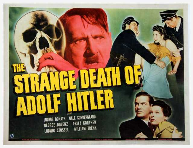 Poster_strange death Of Adolf Hitler