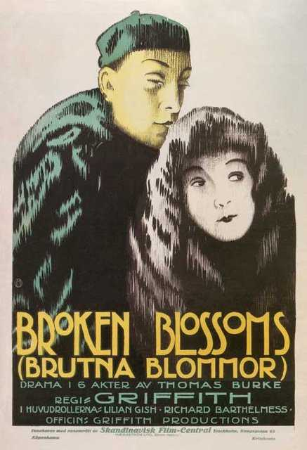 Poster von Broken Blossoms, © Griffith Productions,
