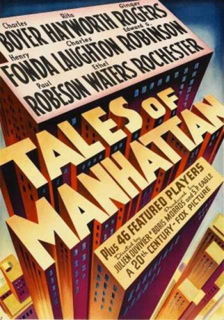 Poster_Tales of Manhattan