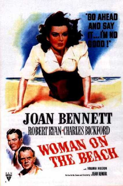Poster von The woman on the beach, © Production