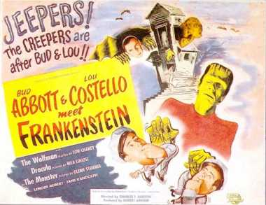 Poster_Abbott and Costello meet Frankenstein