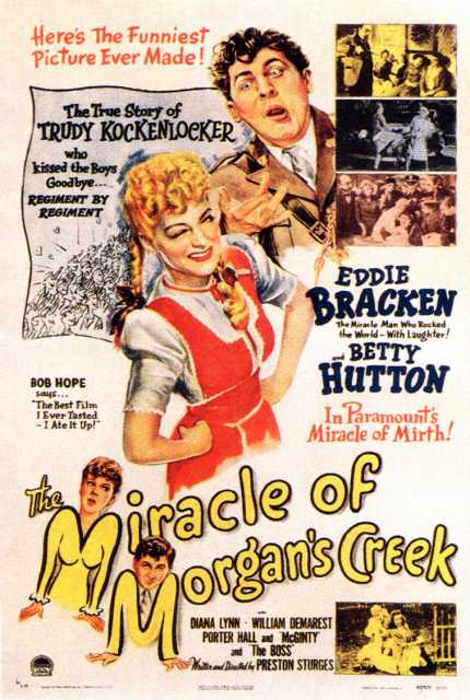 Poster_Miracle of Morgan's Creek