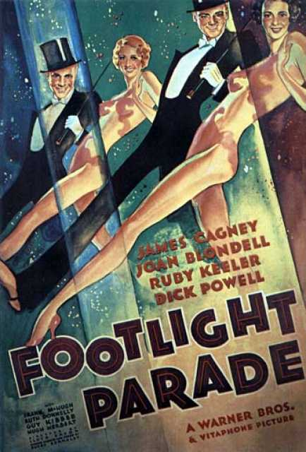 Poster von Footlight Parade, © Warner Bros.,