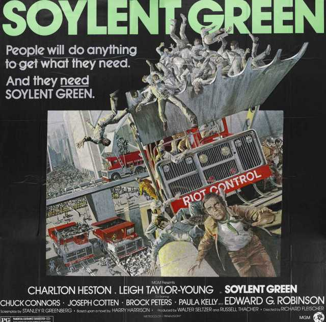 Poster von Soylent Green, © Production