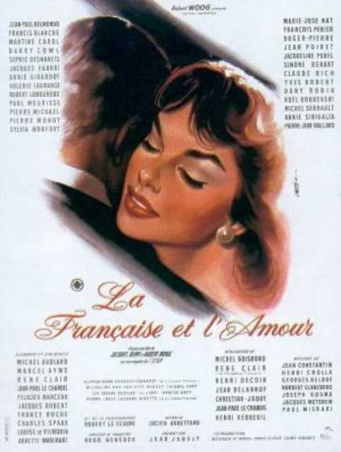 Poster von La Francaise et l'amour, © Production