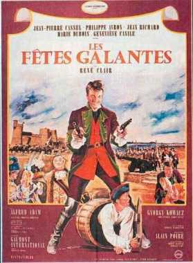 Poster von Les fêtes galantes, © Gaumont International, Studioul Cinematografic Bucuresti,