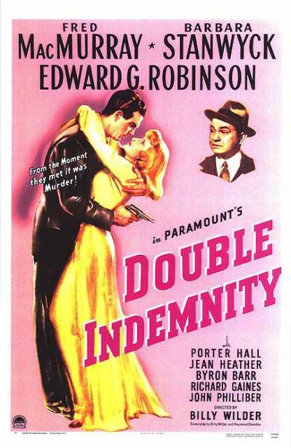 Poster von Double indemnity, © Paramount Pictures, Inc., Paramount Pictures, Inc.,